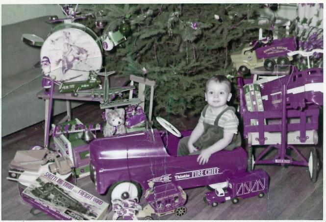 HADDEN Ian Christmas morning 1958-59