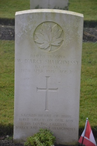 SHAUGHNESSY Wm Darcy war grave from mapleleaflegacyproject